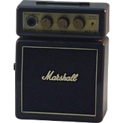 SOLD Marshall MS-2 Guitar Amp Amplifier With Overdrive Portable Battery Powered MS2