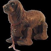 SALE Large 1930's Press Fiber Ramp Walker Irish Setter Dog