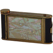 SALE Camera Powder Compact Mother of Pearl Manicure Set Cigarette Case