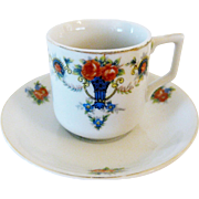 Teacup and Saucer from Occupied Japan