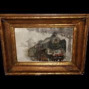SOLD Steam Locomotive - William Kreibich (1844 - 1955), Czech Republic
