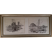 REDUCED Numbered and Signed Don B. Williams Lithograph