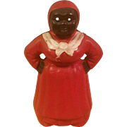 Cast Iron Aunt Jemima Coin Bank
