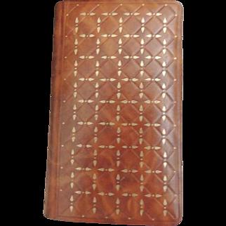 1955 Vintage French Missel Leather Religious Prayer Book Missel Vesperal Dominical / Prayer Missal
