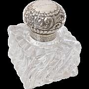 Sterling & Crystal Perfume Bottle