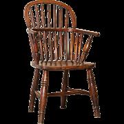 Sack Back Windsor Chair, 19th-Century, English