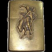 SALE Zippo Marlboro Country Bucking Horse and Rider Lighter