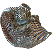 Vintage alpaka handmade ring