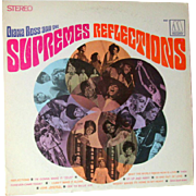 Vintage Vinyl Record Diana Ross And The Supremes Reflections