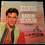 Vintage Vinyl Record Harum Scarum Circa 1977