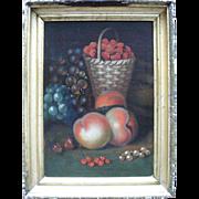 SALE English School, William Jones of Bath.  18th Century Still Life Oil Painting.