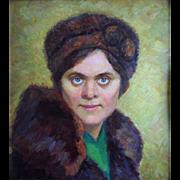 SALE Ivacher MOUSSATOV (1900-1992) Russian School c1963 Oil Painting