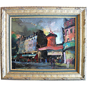 SALE Olivier FOSS (1920-2002) French / American Impressionist c1950 Oil Painting