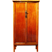 Fabulous Antique Chinese Lacquered Cabinet, Circa 1820