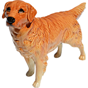REDUCED Vintage Beswick Pottery Figure of a Golden Retriever