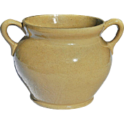 REDUCED Wide-Mouthed Ohio Earthenware Container from Burley-Winter Pottery