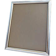 Vintage Oversized 'Silver' Metal Art Frame Intended for Special Occasions