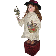 SALE JUMEAU musical automaton with BUTTERFLY by  LEOPOLD LAMBERT