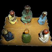SALE Orientalist Art - Georg Heyde Hollowcast Metal Figurines - Rare 1900s Cold Painted ...