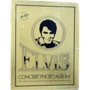SOLD Elvis Presley Concert Photo album with box from 1977