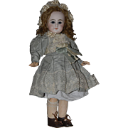 """SALE WINTER SALE!!  PRICE REDUCTION!!  Rare French Bisque Bebe Dep, 19"""", with Closed Mout"""