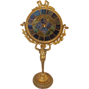 Tiffany & Co. Mosaic Candle Reflector With Caryatid Base