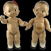 "c1940 Campbell's Soup Kids Pair 12"" by Horsman"