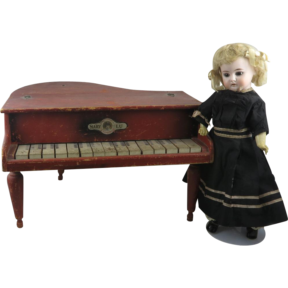 Small Grand Piano By Mary Lu It Works C1920 From