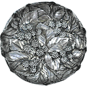 Gorham Aesthetic Sterling Silver Berry Dish, Circa 1880