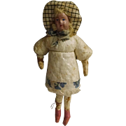 Antique Christmas Cotton Ornament or Doll Small Size!