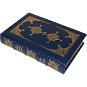 """Pride and Prejudice"" by Jane Austen, Leather Bound Book"