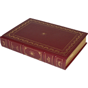 """Humboldt's Gift"" by Saul Bellow, Leather-Bound Book"