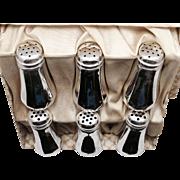SALE Weidlich Brothers Sterling Silver Salt & Pepper Shaker Set of 6
