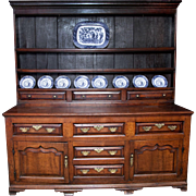 SOLD A Very Fine example of an 18th century Welsh Dresser.