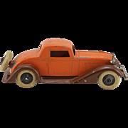 1930's Tootsie Toy Graham 5 Wheel Coupe