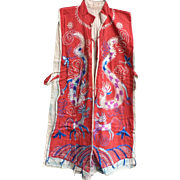 Daoist Robe for Shaman Embroidered on Cotton