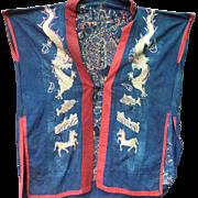 Cao Lan Dragon Shaman Robe, Northern Vietnam
