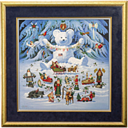 Charles Wysocki - Jingle Bell Teddy and Friends number 3218