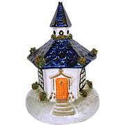 SALE Staffordshire Cottage/Pastille Burner