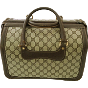 1970's Gucci Train Case