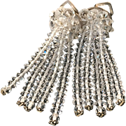 Austrian Crystal Cascade Earrings
