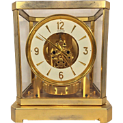 SALE 1940s Jaeger Atmos LeCoultre Caliber 519 Low Serial Number! 24K Gold Lacquer Case Not ...