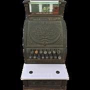 SALE Vintage 1913 National Cash Register Class 300 Model 313 w/ Marble Shelf Glass Top ...