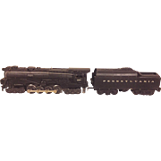 SALE Vintage Lionel 681 6 8 6 Pennsylvania Turbine Locomotive 2671W Coal Tender Cars & Boxes