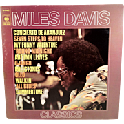 SALE LP Miles Davis Classics 2 Record Set CBS 88138