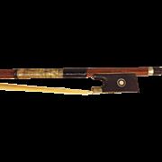 SALE Vintage Richard Geipel Violin Bow Czechoslovakia Early 1900s
