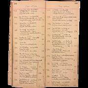SALE Antique Clock Store Repair Ledger Book May 1930 to Sept 1945 Philadelphia Pennsylvania ..