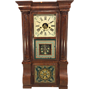 SALE Antique 1840s Forestville Mfg Co (J C Brown) Triple Decker Column & Cornice Clock Not ...