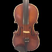 Vintage A R Seidel Violin with Case Glaesel Adjusted V131E 1985 Mittenwald Germany  Antonius .