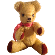 Vintage Deans Child's Play 1950s / 60s Teddy Bear. With Label